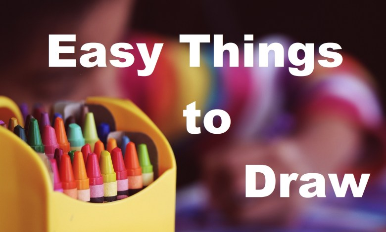 Photo of 100 Simple Easy Things to Draw Step By Step Guide