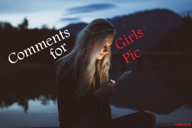 Comment for Girl Pic