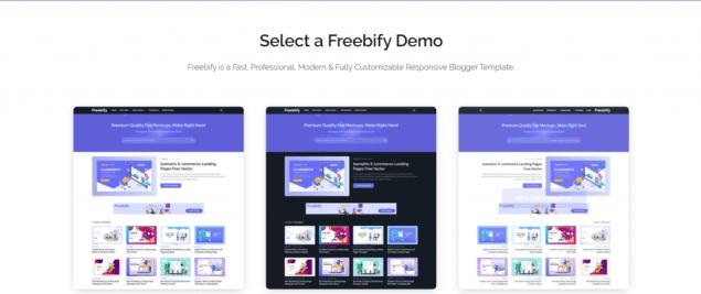 freebify blogger template