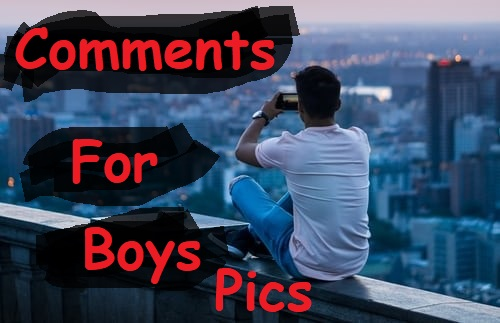 comments on boys pic