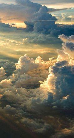 Cloudy Sky Aesthetic Wallpaper in Hd
