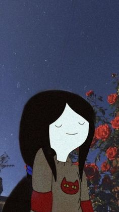 Innocent Girl in Thinking Mood Aesthetic Wallpaper