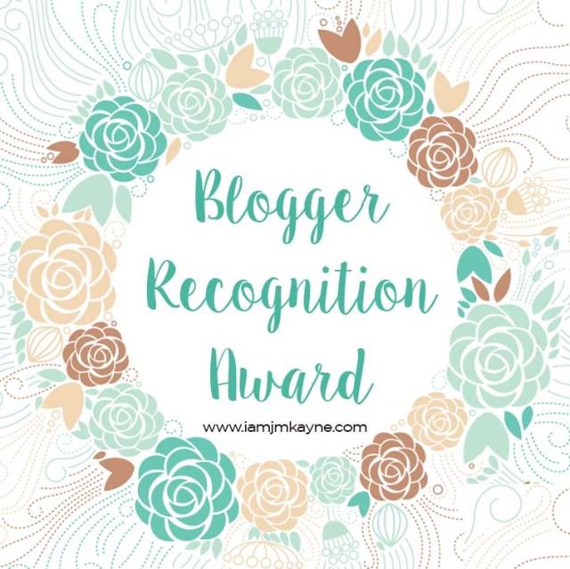 iamjmkayne - blogger award