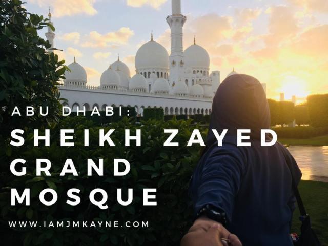 Grand Mosque - iamjmkayne.com