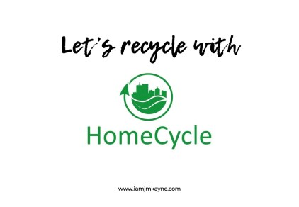 Recycle with HomeCycle Dubai - iamjmkayne.com