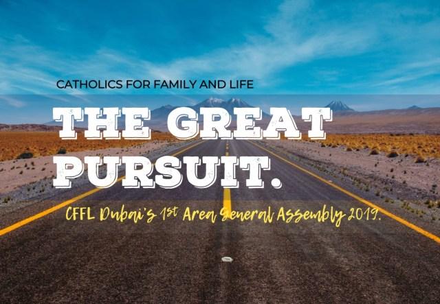 The Great Pursuit - iamjmkayne.com