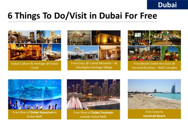 6 Free To Do in Dubai - iamjmkayne.com