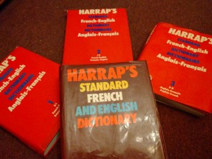Harrap's French English dictionary