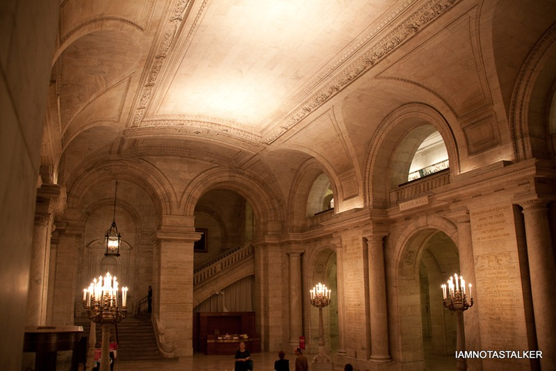 """The New York Public Library from """"Sex and the City: The"""