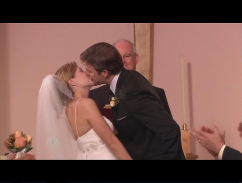 Jim And Pam Wedding Episode.Jim And Pam S Wedding Church From The Office Iamnotastalker