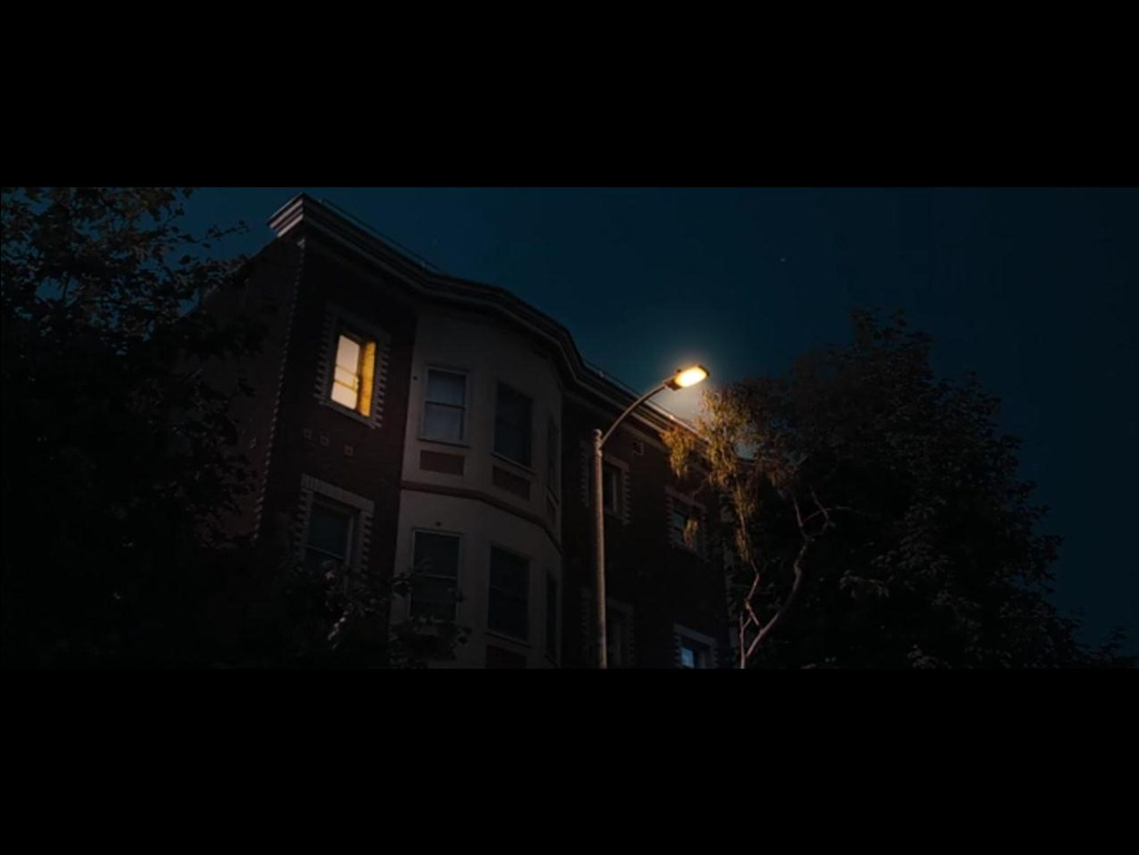 and next towards the very end of the movie in the scene in which annie and helen rose byrne track lillian to her apartment on the morning of her wedding