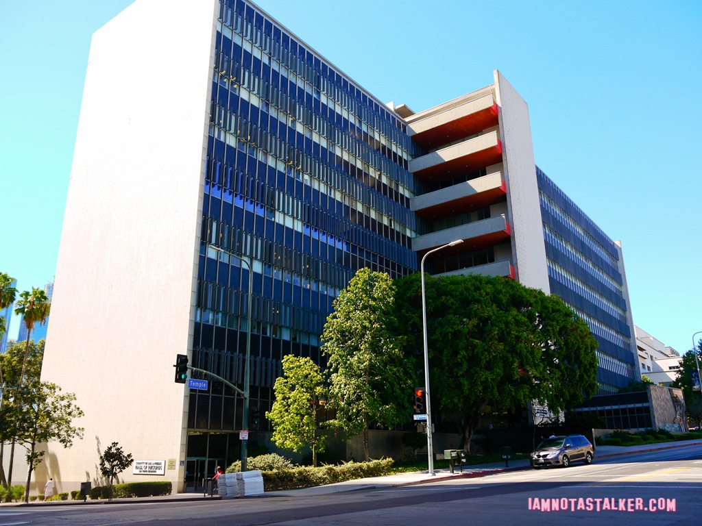 Los Angeles County Hall of Records - IAMNOTASTALKER