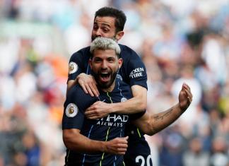 Gol de Sergio Agüero para Manchester City