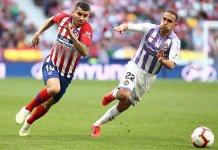 Atlético de Madrid se impuso ante Valladolid