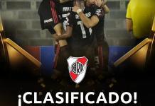 River pasó a octavos de la Copa Libertadores
