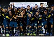 Boca entrenó pensando en la Copa Superliga