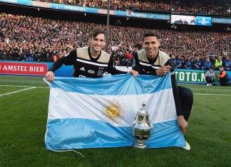 Tagliafico y Magallán campeones con Ajax
