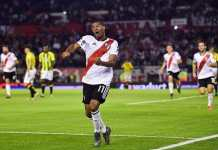 Nicolás De La Cruz metió tres goles