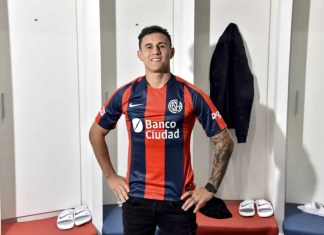 Adam Bareiro llegó a San Lorenzo