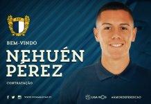 Nehuén Pérez jugará en Portugal