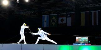 Isabel Di Tella ganó el bronce en esgrima