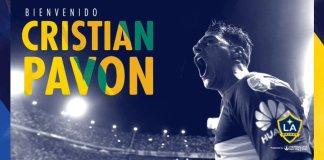 Cristian Pavón fue presentado en Los Angeles Galaxy