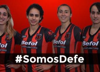 Defensores de Belgrano tiene equipo femenino