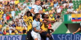 Argentina le gana a Ecuador