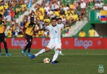 Leandro Paredes marcó para Argentina