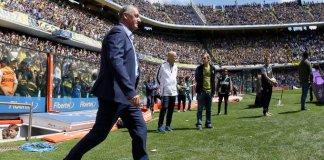 Gustavo Alfaro habló tras la goleada de Boca