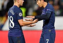 Giovani Lo Celso marcó para Tottenham