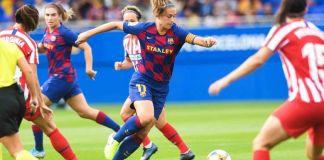 Barcelona y Atlético de Madrid se enfrentarán en la Champions femenina