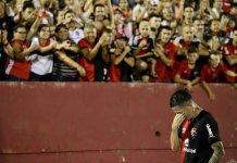 Aníbal Moreno y su primer gol