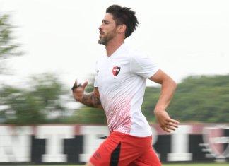 Pablo Pérez entrenó en Newell's