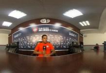 Nicolás Fernández en conferencia de prensa