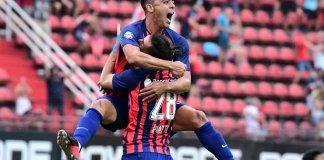 San Lorenzo le gana a Lanús