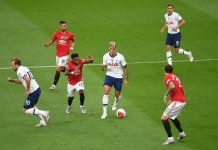 Tottenham empató con Manchester United