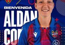 Aldana Cometti jugará en Levante