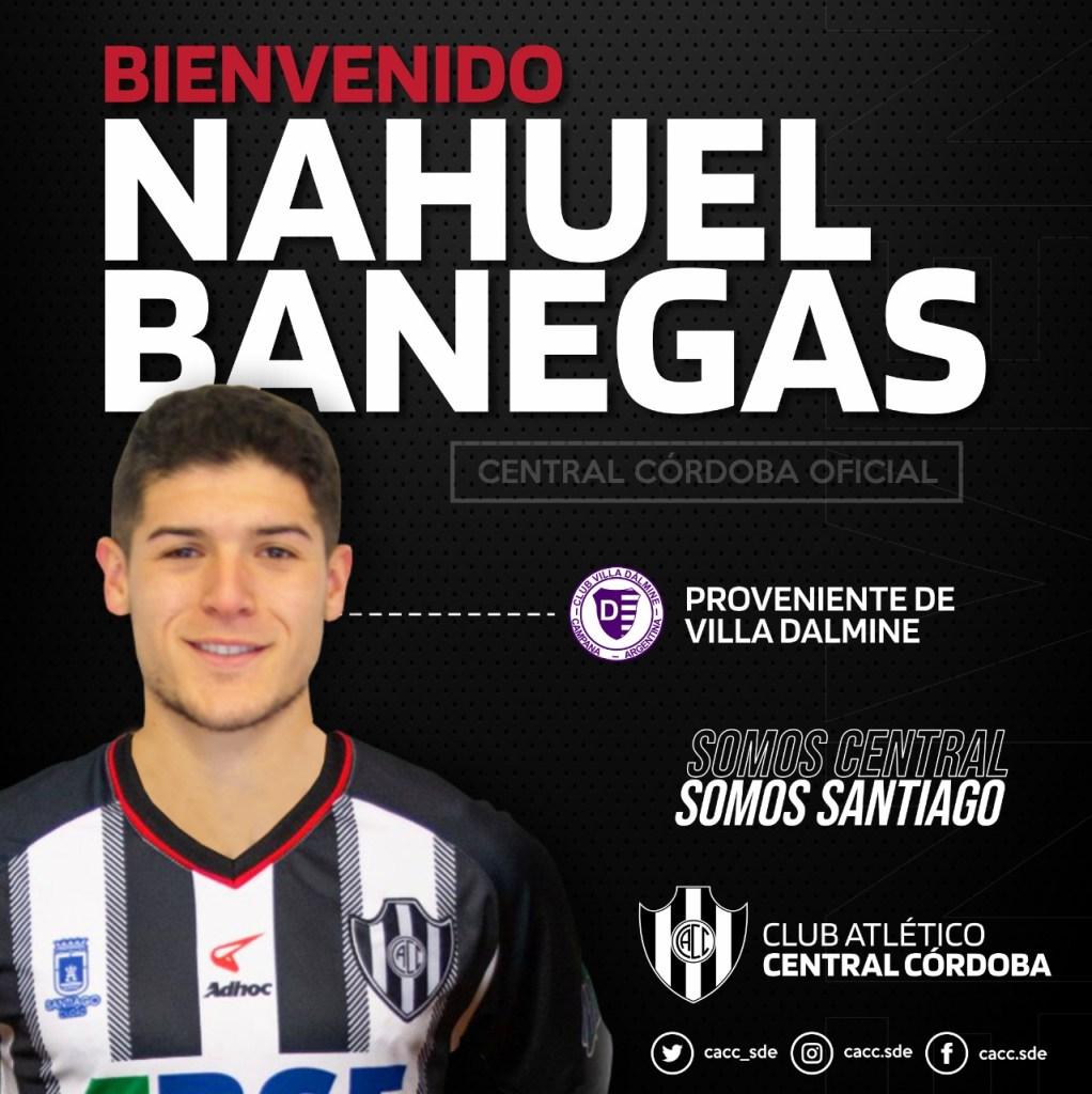 Nahuel Banegas se sumó a Central Córdoba