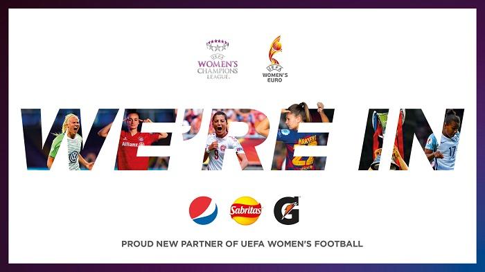 Une marque de boissons gazeuses, nouveau sponsor du football féminin européen  - Euro 2020