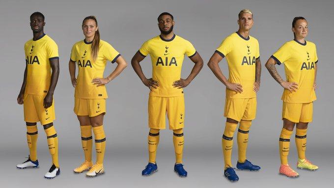 Tercera camiseta Tottenham