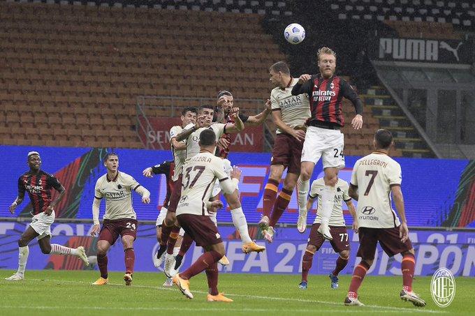 Milan empató con Roma