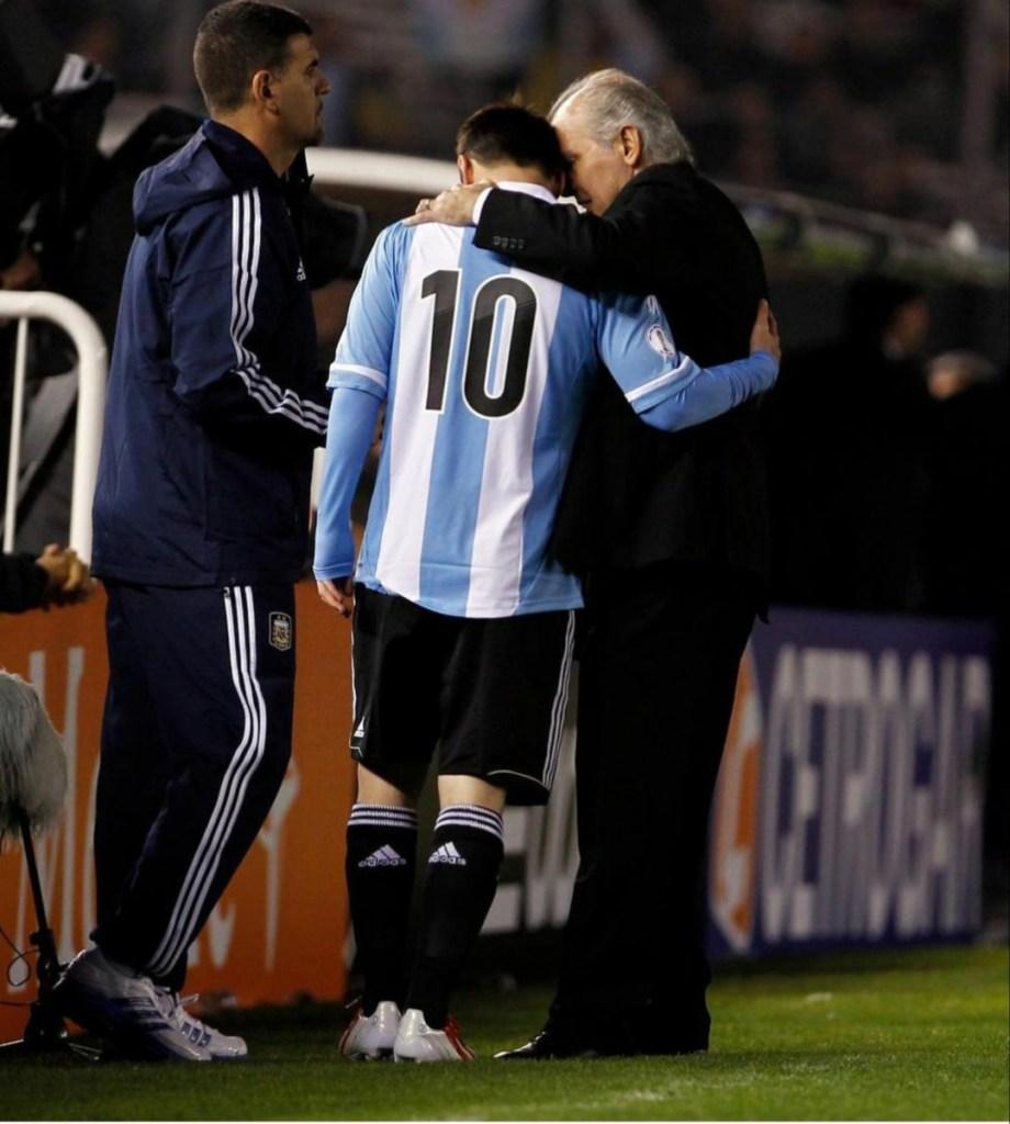Messi despidió a Sabella