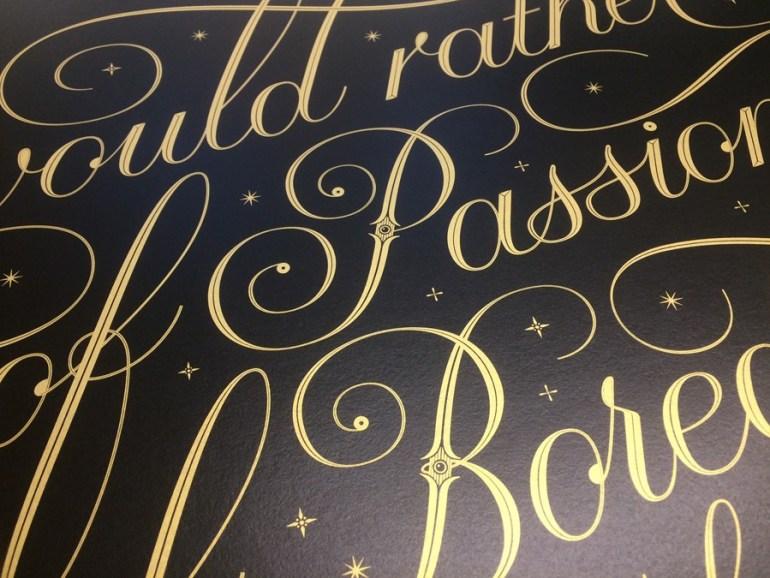 seb lester typographic prints