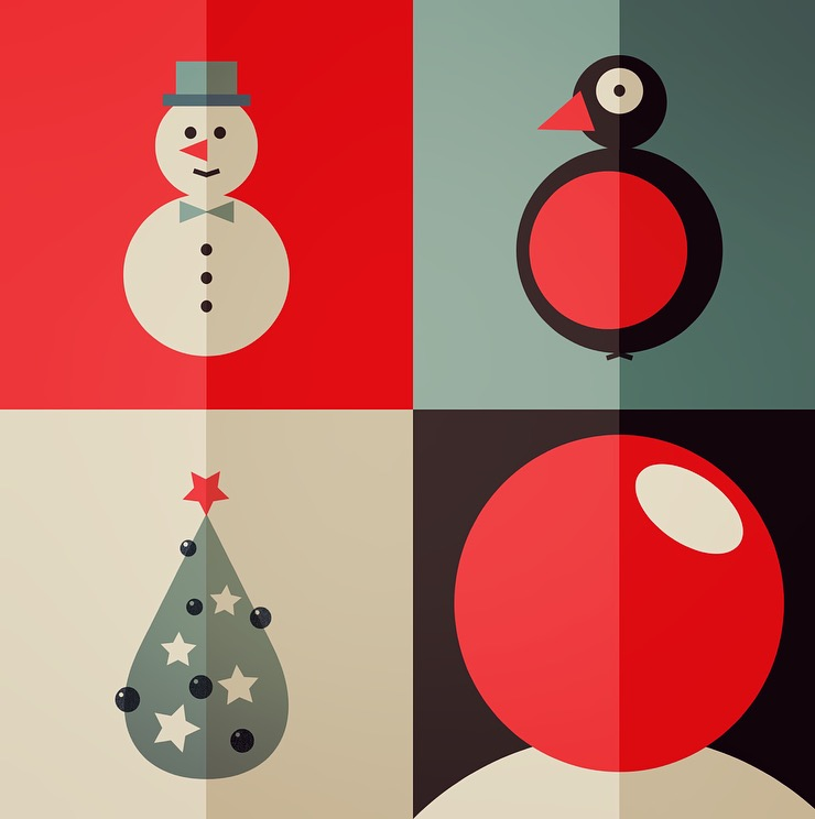 Festive freebie for Xmas to make cards from