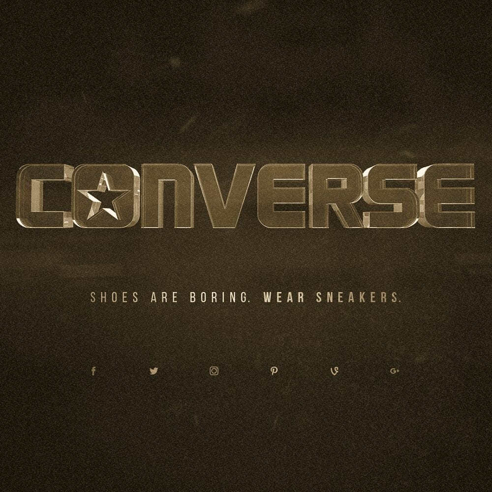 Converse Logo Reveal