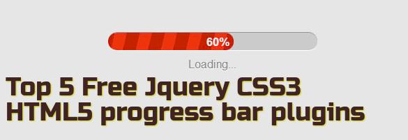 free-jquery-progress-bar-plugin