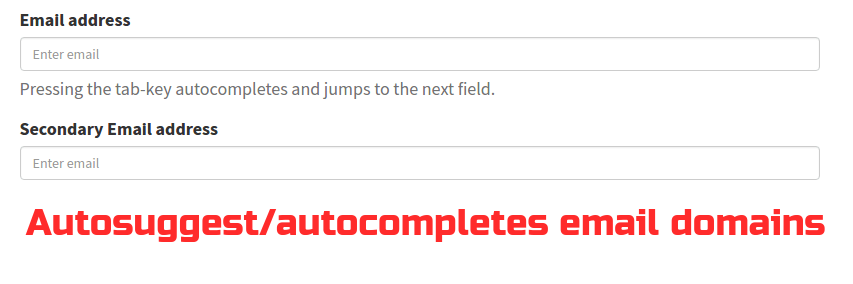 Awesome jQuery plugin that suggests and autocompletes the