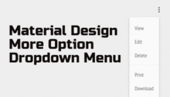 Material-style JQuery plugin for a floating action button & menu