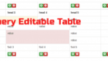 Create Editable HTML Table Using Jquery Bootstrap With Add